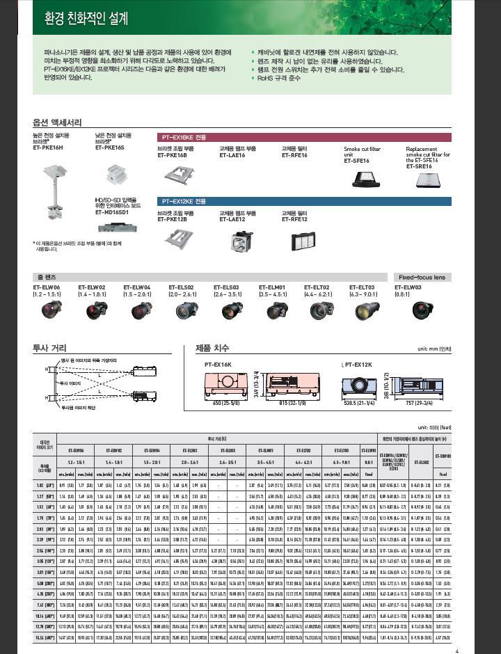 솔로몬기술단 avenuri.com 02-711-4003 파나소닉 PT-EX12KE